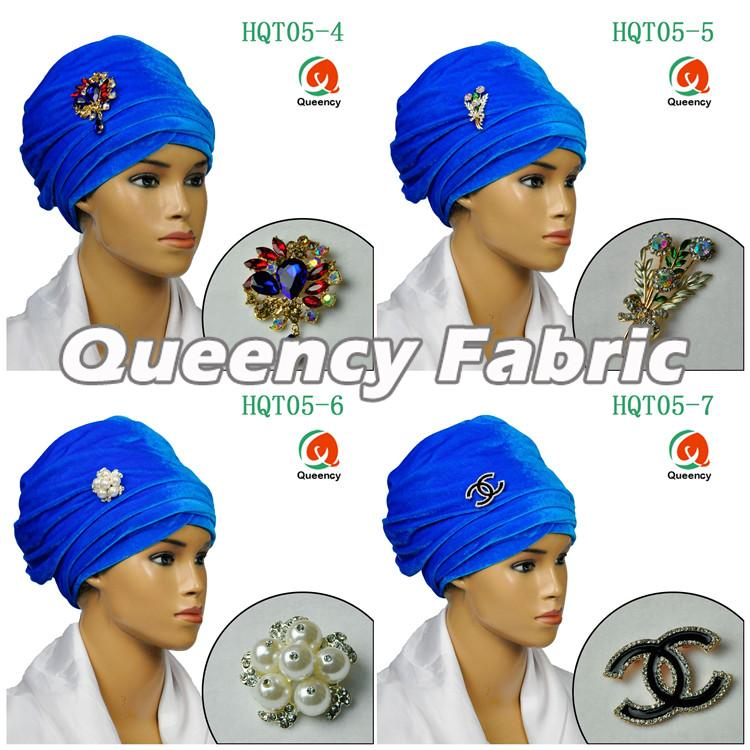 Arabic Turbans In Turquoise Blue