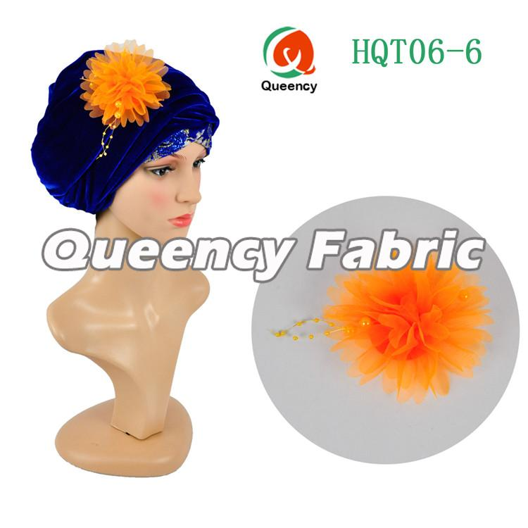Royal Blue Head Turbans