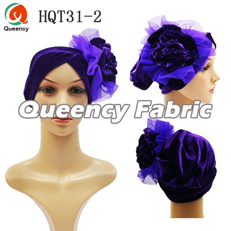 Plain Turban Velvet Fabric
