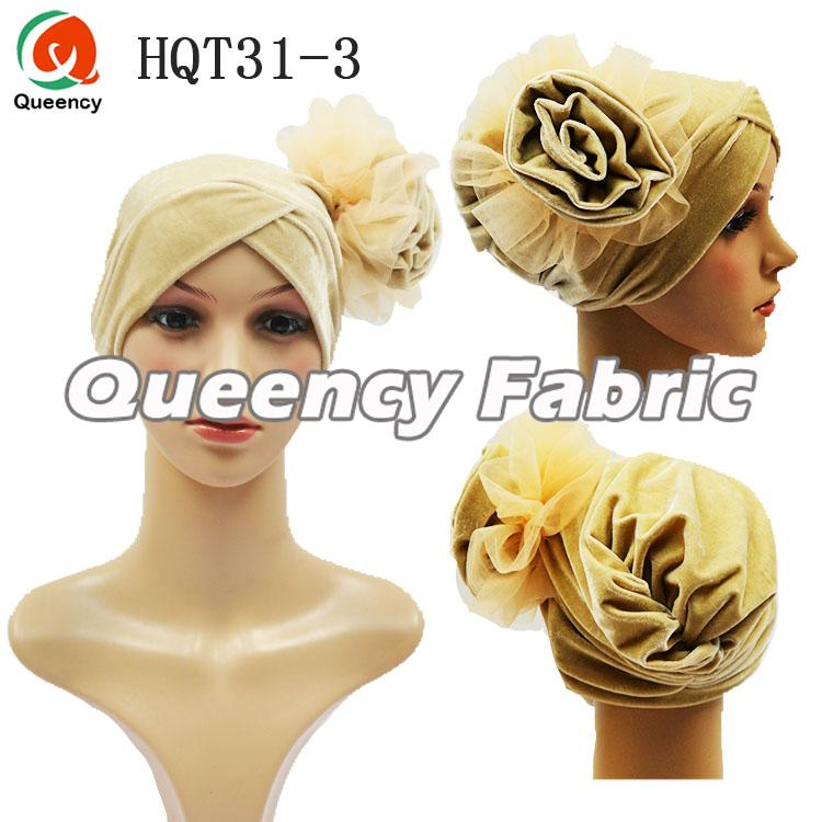 Big Flower Velvet Headband