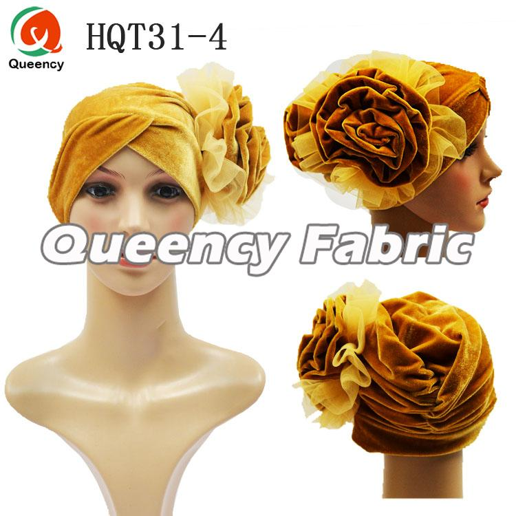Ladies Bonnet With Big Flower
