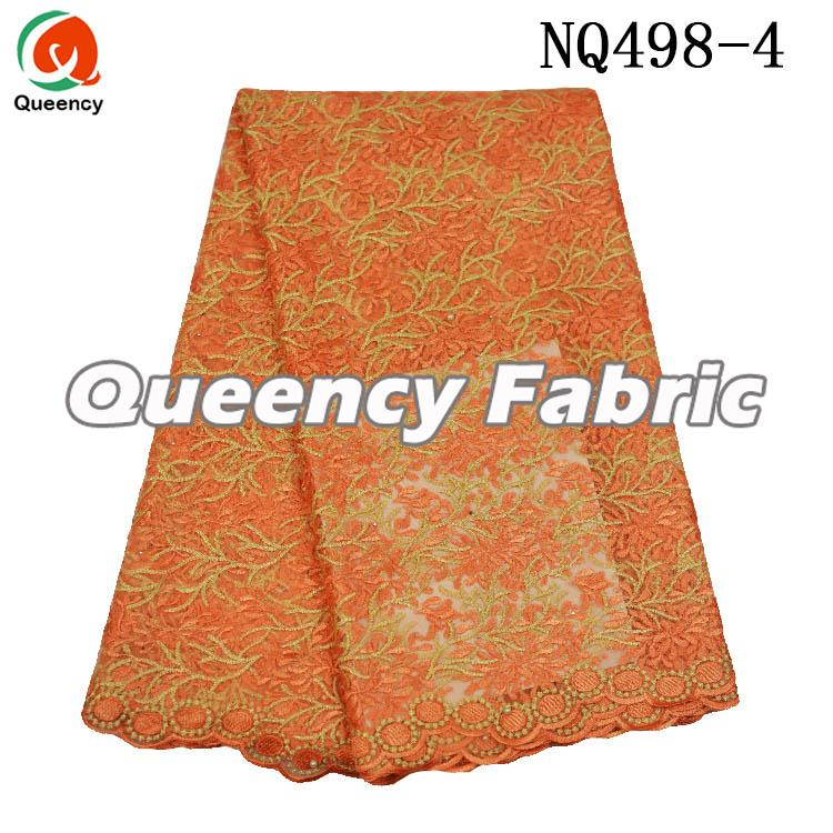 Chantilly Lace Nigeria Beaded Fabric
