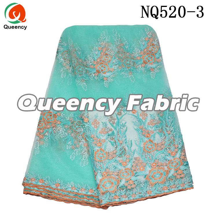 Wholesale Lace Tulle Embroidered Fabric