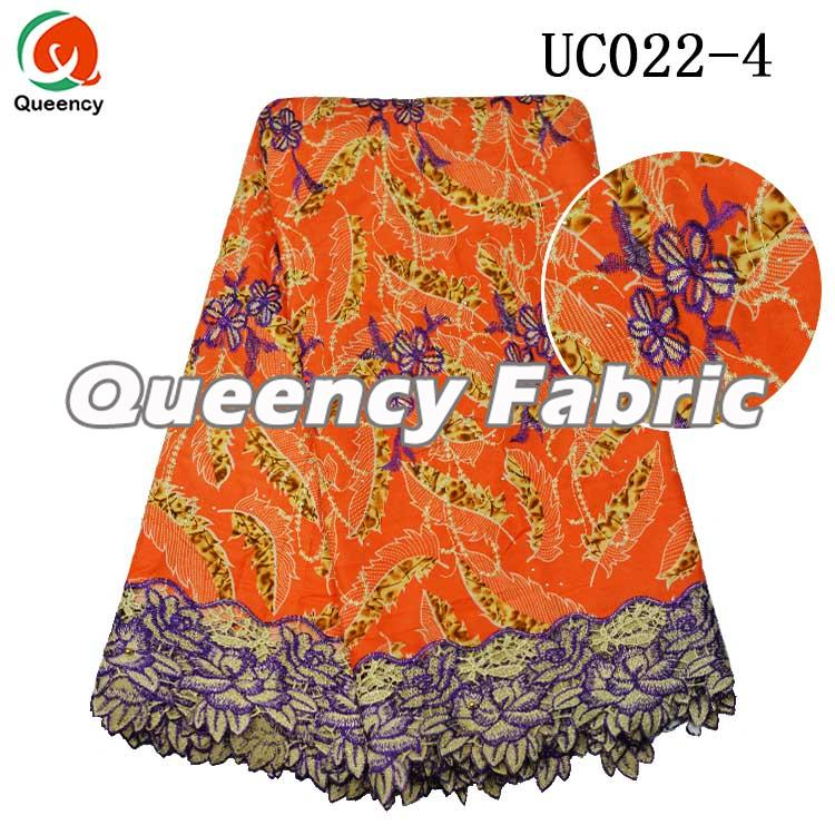 African Wax Lace Fabric