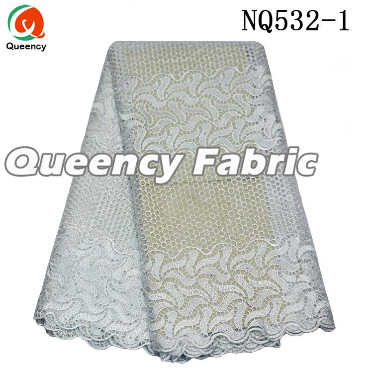 Plain French Stones Lace