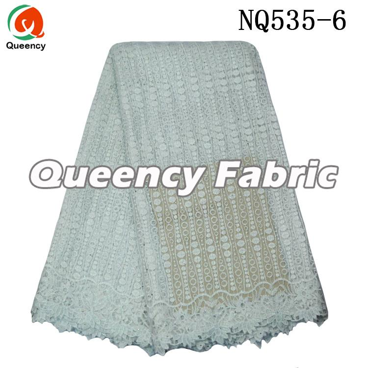 White French Lace Fabric