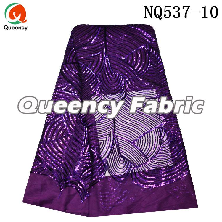 Nigeria Ladies Lace Cotton Tulle Embroidery