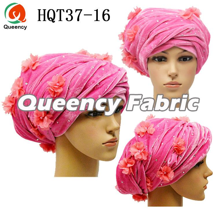 Pink Turban Head Wrap For Ladies