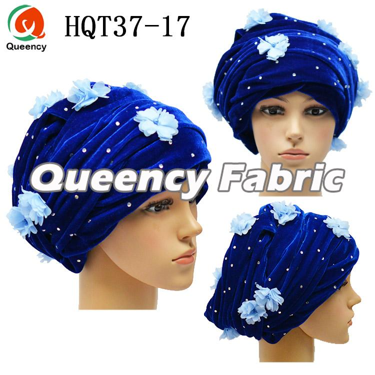 Royal Blue Stretch Turban Head Tie