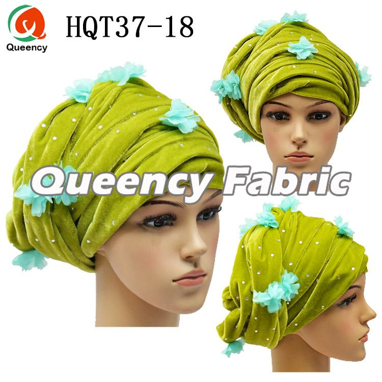 Lemon Headband Turban Applique