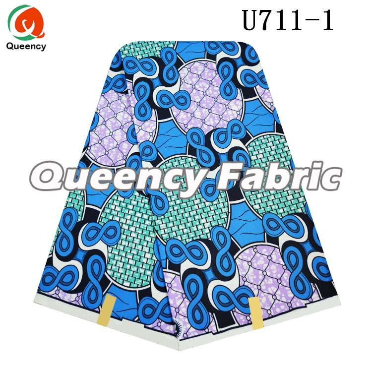 African Print Polyester Fabric