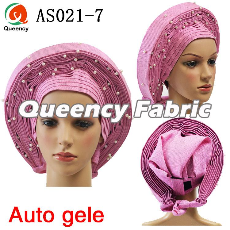 Aso Oke Auto-Gele Already-Made Headtie
