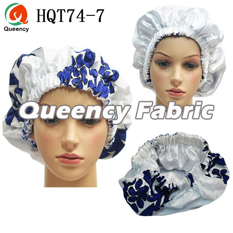 Ankara Lined Satin Bonnet
