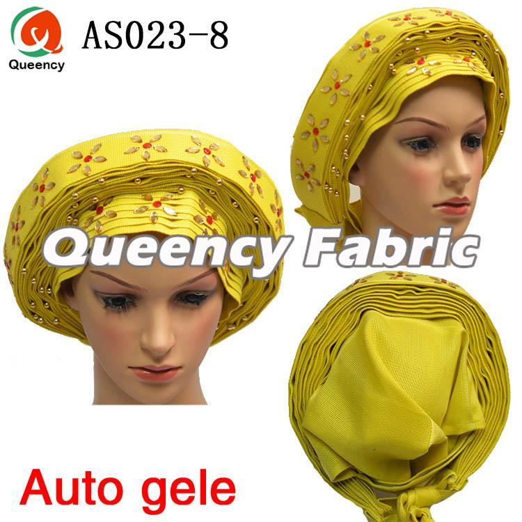 Auto gele Already made head tie