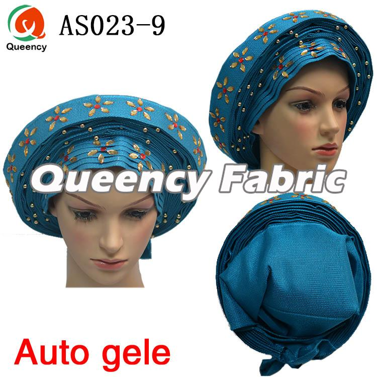 African Auto Gele Ladies Wedding Headtie