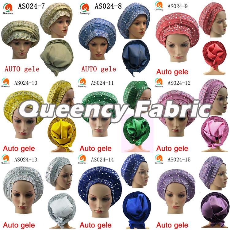 Nigerian Auto Gele Headtie Collection