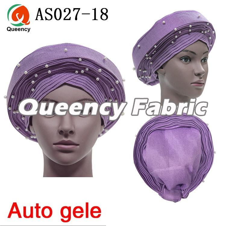 Nigerian Auto Gele Headtie For Wedding