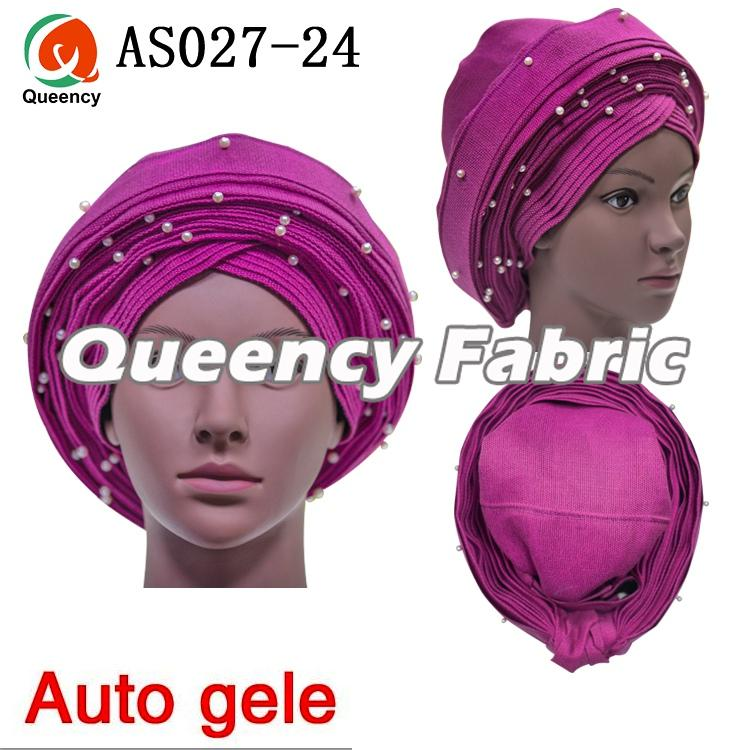 Wholesale Nigerian Ladies Auto Gele Headtie Wrap