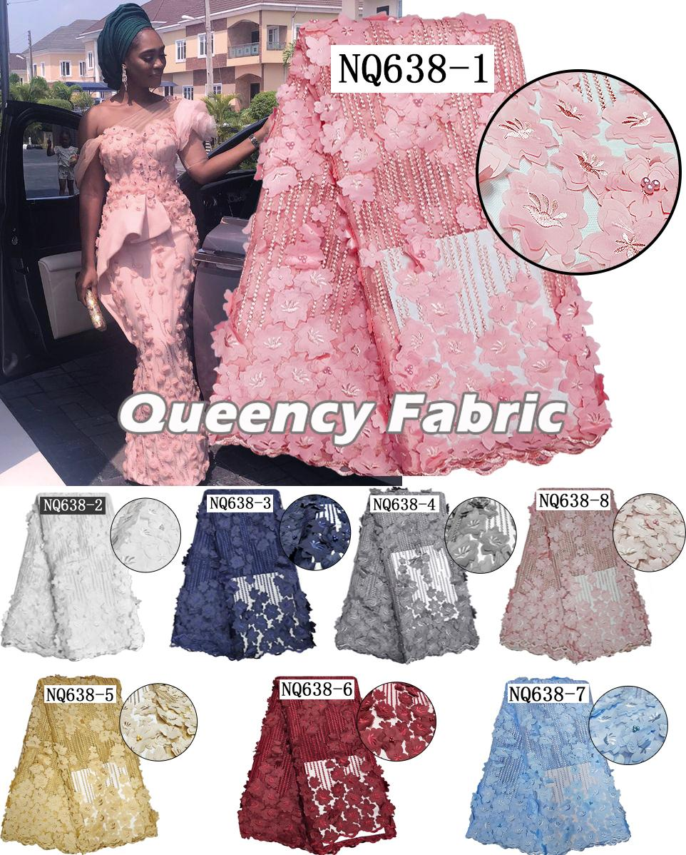 French Net Lace Fabric