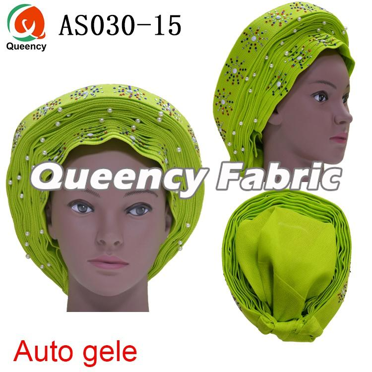 Auto Gele Already Wrapped Head Tie