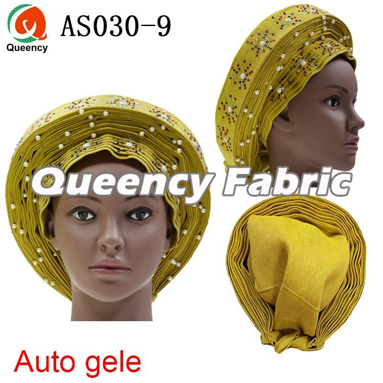 African Ladies Auto Gele Headtie
