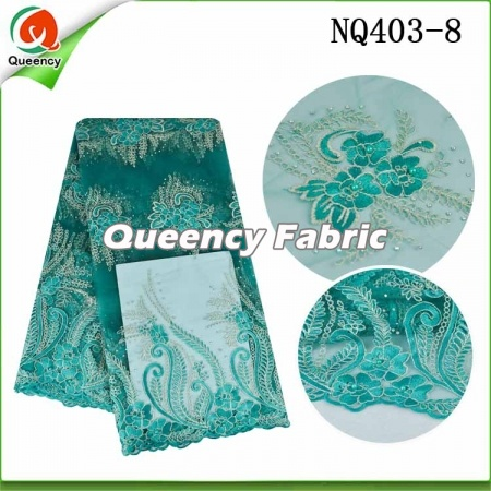 French Chantilly Lace Nigeria Fabric Embroidery