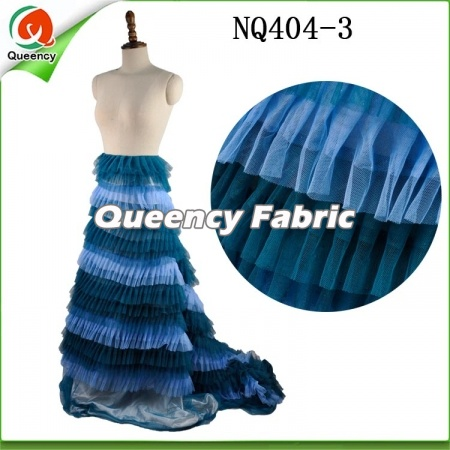 French Bubble Lace Fabric Dresses