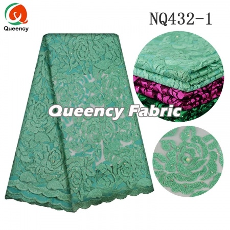 Net Lace Fabric Nigeria Clothing