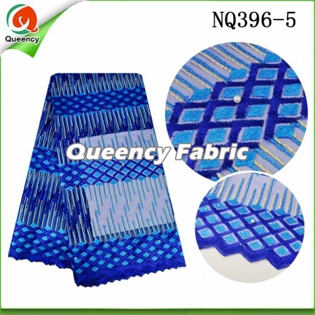 Embroidery Net Lace Nigeria Fabric