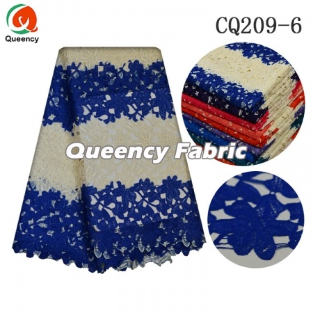 Nigeria Cupion Lace Cotton Fabric