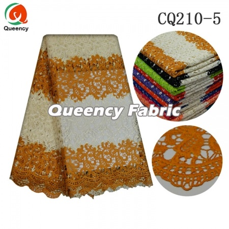African Water Soluble Lace Fabric