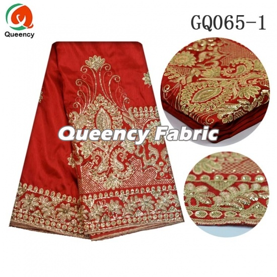 6ac1c38f9e7314 Nigeria Bridal And Party Dresses African George Raw Silk Lace Material  Embroidery