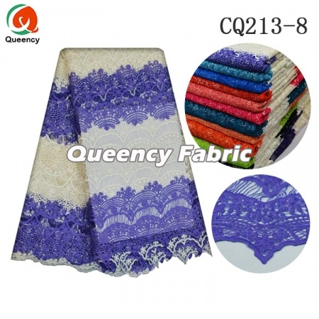 Cord Fabric Nigeria Two-Tone Lace