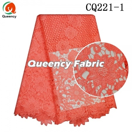 Water Soluble Chantilly Nigeria Plain Lace