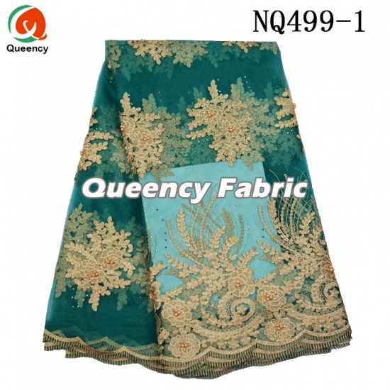 Cheapest Heavy Beaded French Chantilly Lace Embroidery
