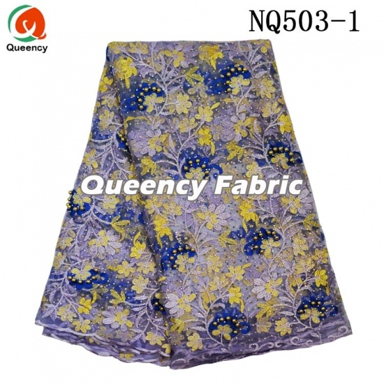 Nigeria Lace French Cotton Embroidery