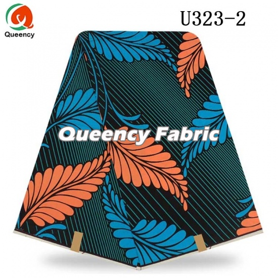 Nigeria Wax Fabric Dresses Design