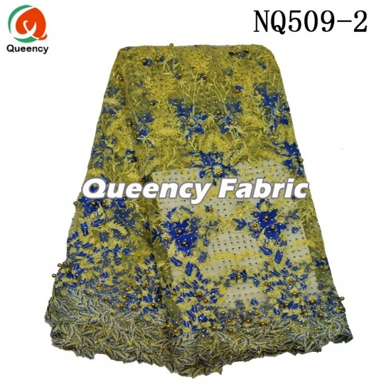 Net Beads African Ladies French Dresses