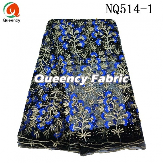 Fashion Heavy Lace Beaded Embroidered French Material