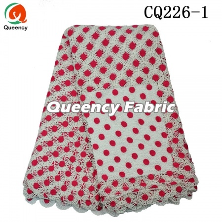 African Cupion Cotton Lace Fabric
