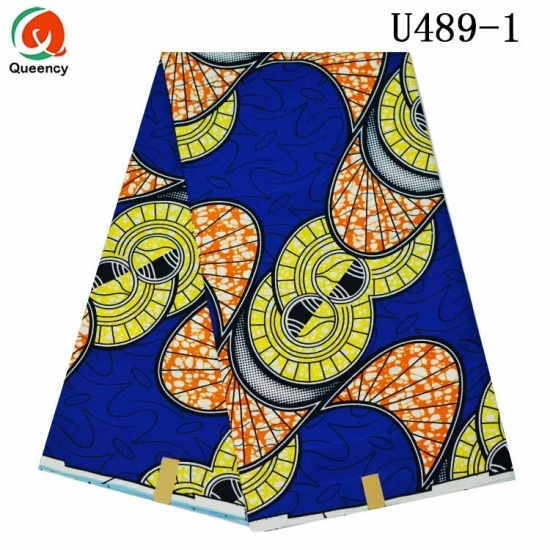 Queency Unique Polyester Ankara Material