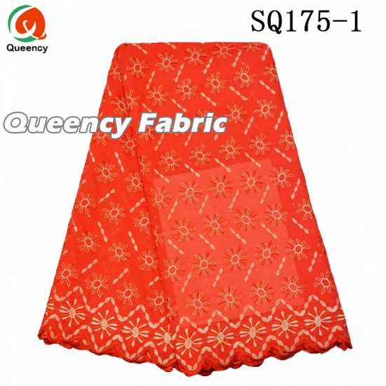 African Lace Swiss Voile Fabric