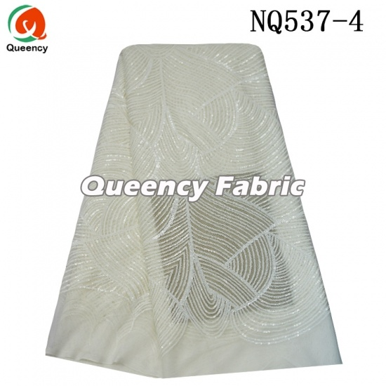 Wholesale Nigeria Tulle Embroidery Lace Fabric