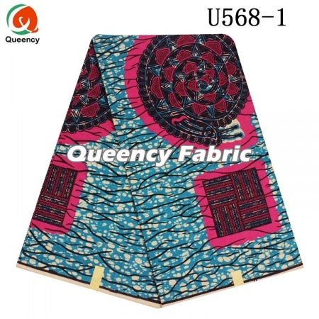 African Unique Cotton Prints Ankara Fabric