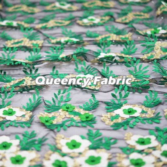 African Tulle French Lace Embroidery