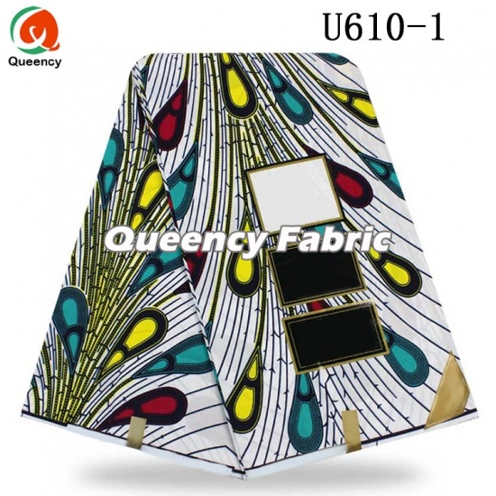 Pure African Cotton Wax Ankara Fabric