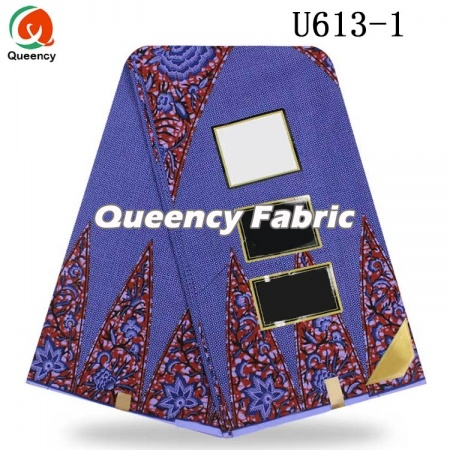 Unique Nigeria Cotton Wax Fabric Prints Material