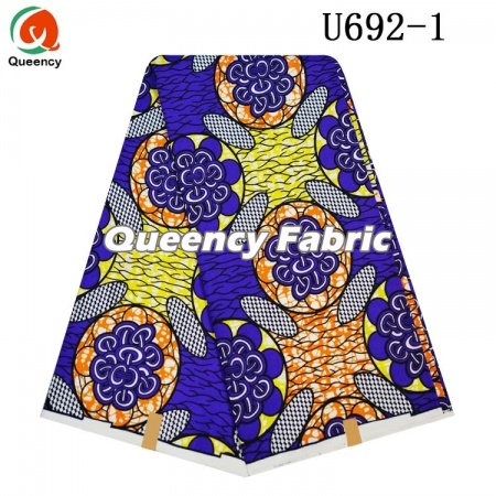 Wholesale Traditional African Polyester Ankara Fabric