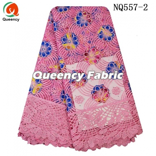 African Embroidered Lace French Material