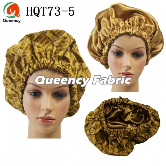 Wholesale Satin Lined Ankara Handmade Bonnet
